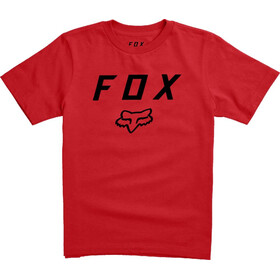 Fox Legacy Moth Kurzarm T-Shirt Jugend dark red